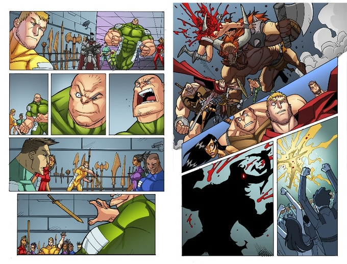XCT Issue #1 Pages 9 and 16