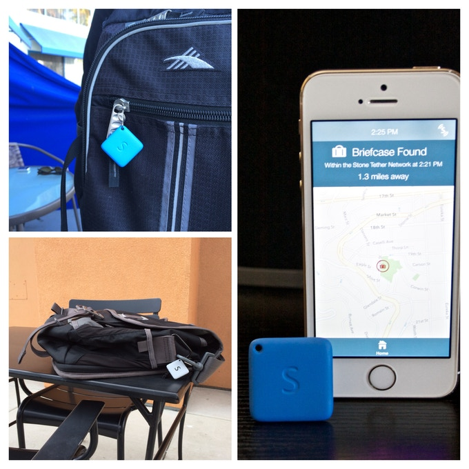 Any StoneTether Device Can Help You Find Any Item Your Marked As Lost!  Unlimited range with our network.