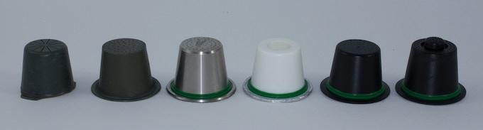 Bluecup: design evolution of the capsule