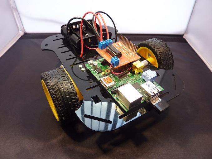 RTK RPi Robotics Kit Assembled
