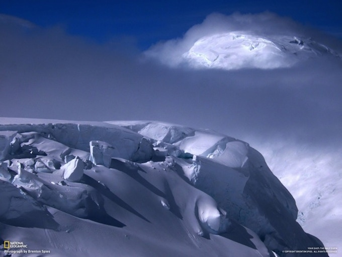 National Geographic People's Choice Award, 2010. Image taken on a Denali, AK expedition.