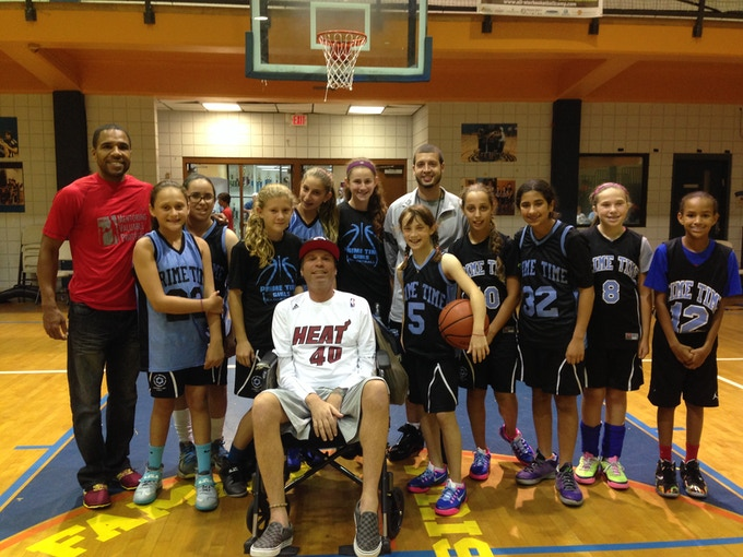 Jeff & his team 2014