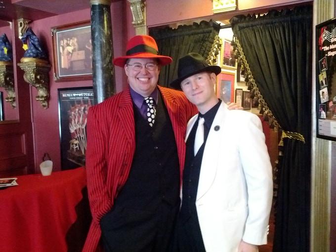 Johnny Dellarocca and Tome Wilson