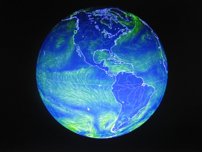 Live Global Wind Map, Click To View Current Wind Around The World