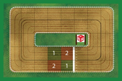 Horse Racing - Primary Mechanic: Dice Rolls & Lite Strategy