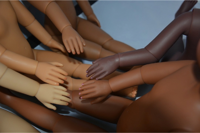 Actual colors of our doll line