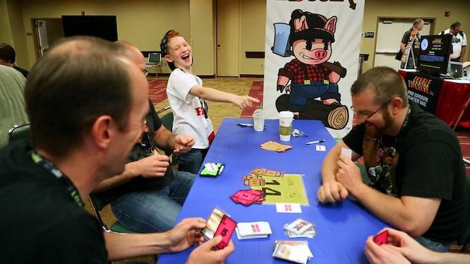 Players having fun at Gen Con 2014