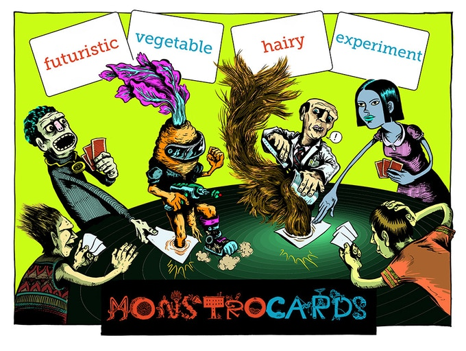 Limited Edition MONSTROCARD Print by Matt Rebholz