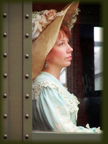 "Lisa as Esther Tinsley in ""Haven on the Hill."""