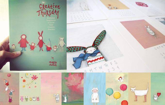 book | 2015 calendar | postcard set