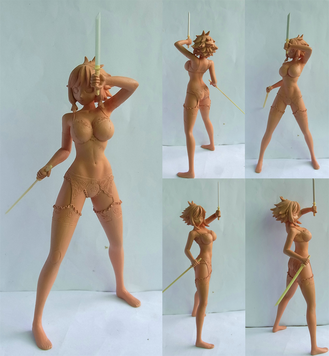 Sculpture of Asumi - Altered Version 2