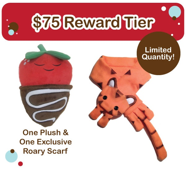 $75 Reward Tier - Limited, 10 available
