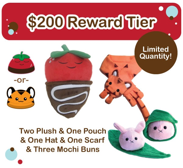 $200 Reward Tier - Limited - 5 available
