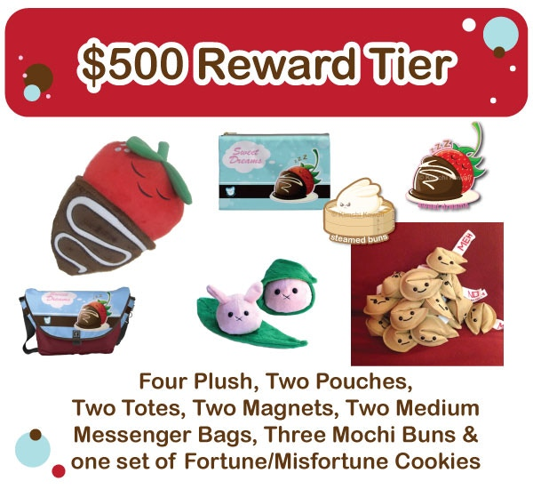 $500 Reward Tier