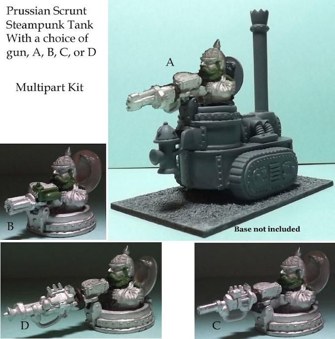 Prussian Scrunt Steampunk Tank Type 1