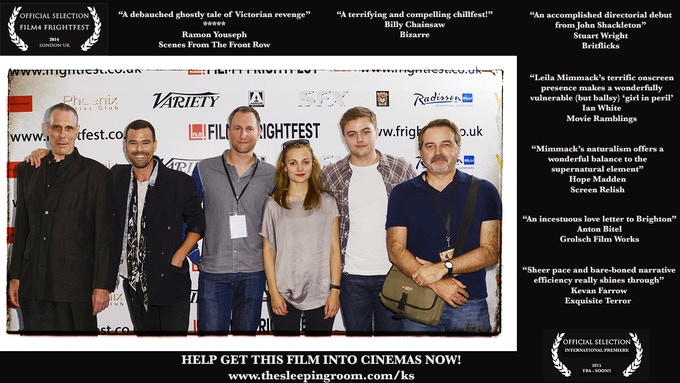 The Sleeping Room - Film4 Frightfest world premiere