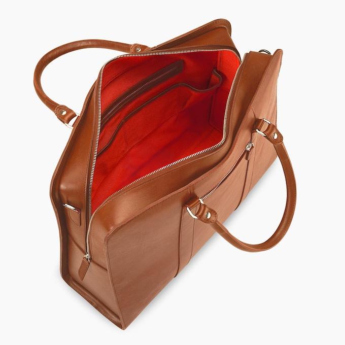25-Hour Bag Palissy Cognac/Red