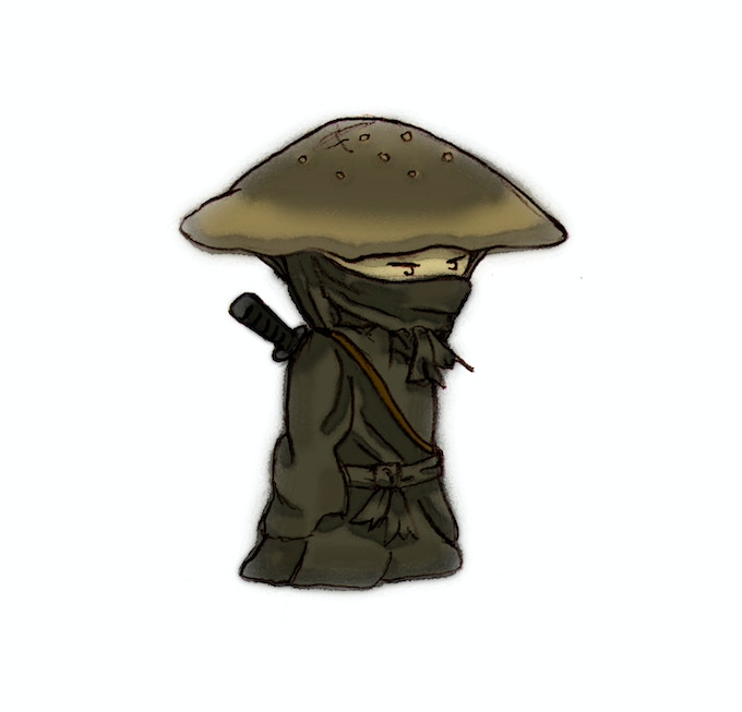Become a Ninja Mushroom Grower!