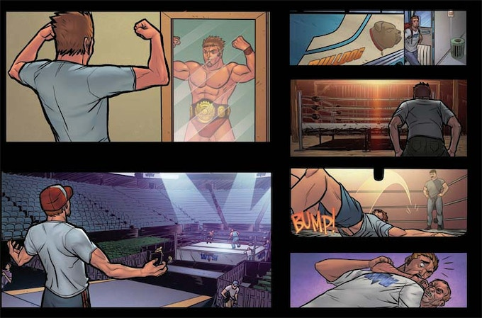 Panels from Headlocked: The Last Territory Vol. 1 by Michel Mulipola & Chuck Obach