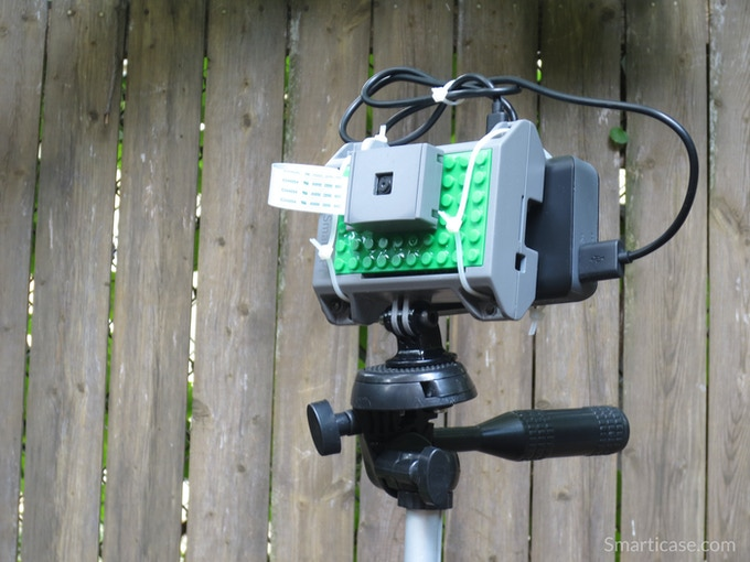 "As a reward option, I am offering a GoPro® compatible mount which can be attached to a standard ¼"" - 20 tripod thread."