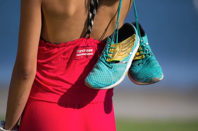 Model: Mayla - (She runs a 3:36 marathon!  Not too shabby!  Next challenge- Boston.)