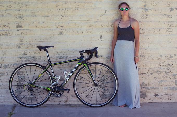 Model: Kristi (Avid Road Cyclist)
