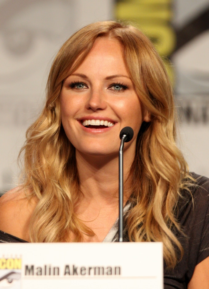 Malin Akerman at the 2011 Comic Con in San Diego