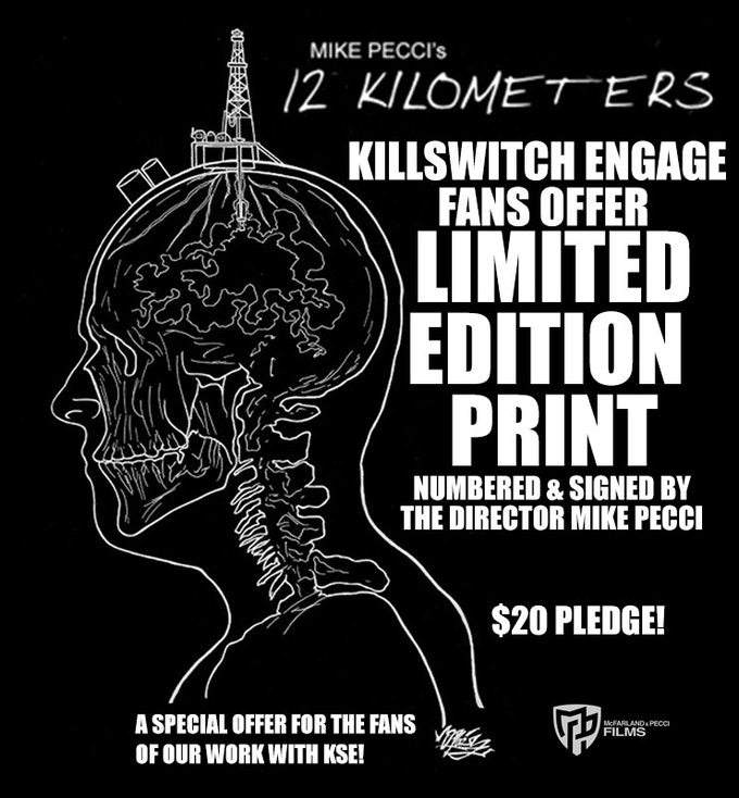 Special edition print for Killswitch Engage fans!