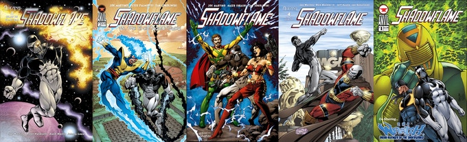 The Hardcover includes all of these awesome Shadowflame stories and more!