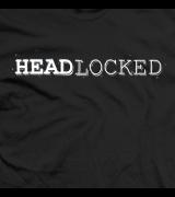 Our original Headlocked logo T-shirt (on black)