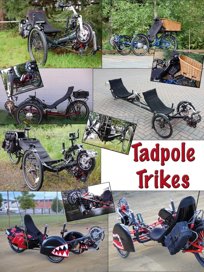 A fantastic commuter, The Tadpole Trike