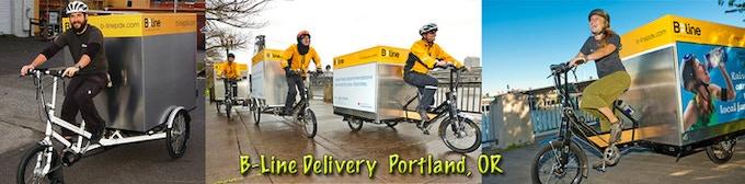B-Line Local Delivery Service Portland Oregon