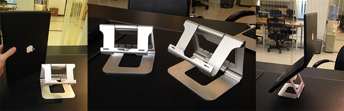 The Ridge Stand and Ridge Stand Pro Prototypes Side by Side View