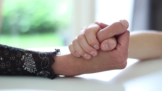 Holding hands is essential to any warm, caring relationship