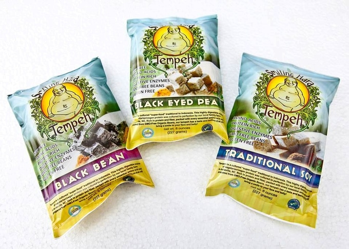 Our existing line of Tempeh, found in the freezer section