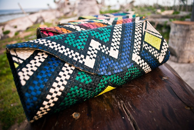 $55 Backer Reward - Choose from 4 different BANAGO Mayumi Clutch Patterns!