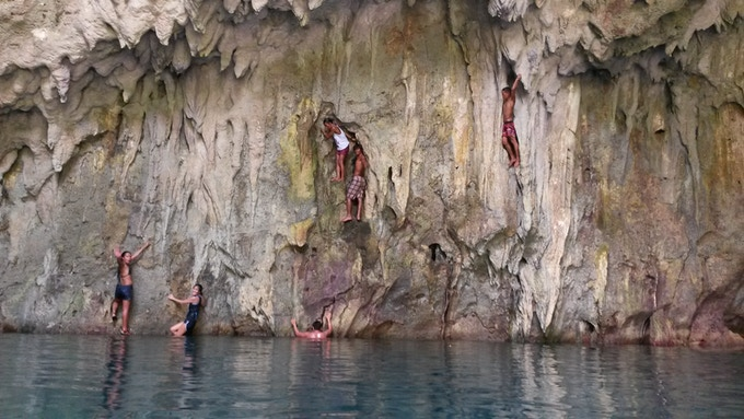 Hidden Caves and underwater Lagoons in Calicoan, Guiuan