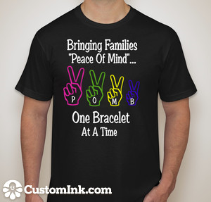 Choose from one of our awesome P.O.M.B T-Shirt designs!!