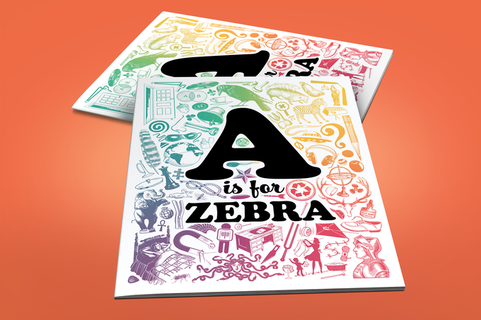A is for Zebra cover