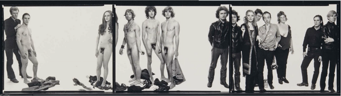 Richard Avedon's portrait of Warhol and The Factory that inspired our editorial Tomorrow's Parties