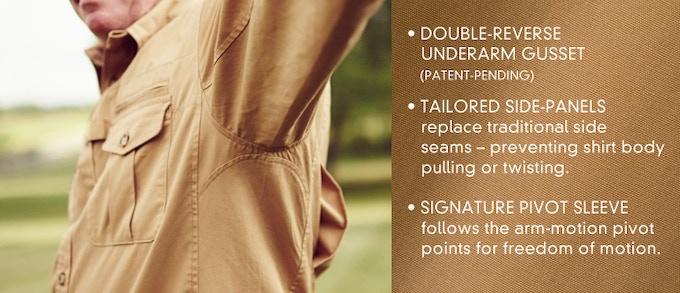 Double-Reversed Underarm Gusset Design