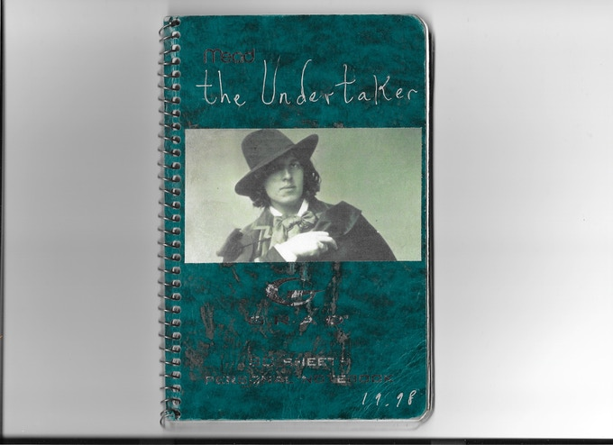 Front cover. 'The Undertaker' journal.