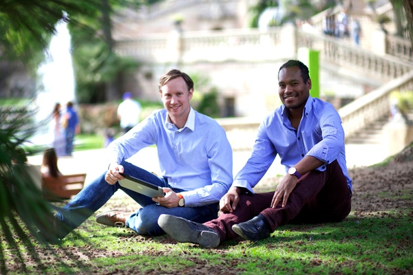 Alex & Andy - founders of Birline watches