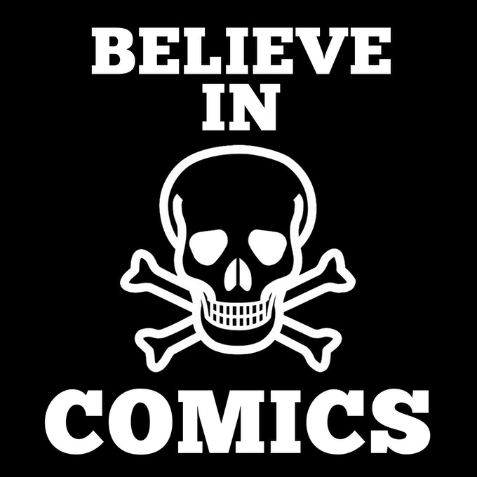 Believe in Comics T-Shirts are available!