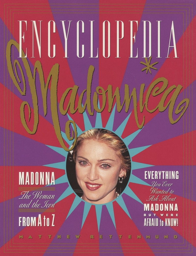 The 1995 edition, featuring Nose-Ring Madonna!
