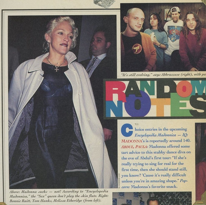 """""""Rolling Stone"""" piece on the 1st book from 1995!"""
