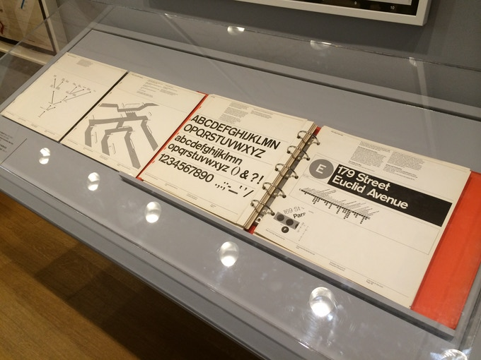 A copy of the manual on display in New York's MoMA.
