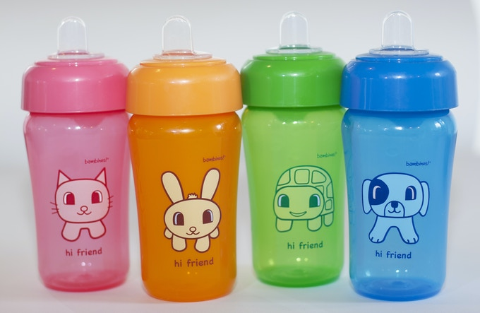 Animal Pals Silicone Cup 4-pack features: soft spout, spill-proof, bpa free, dishwasher-safe, hygienic cover, fun design, and 14 oz size which keeps babies and toddlers hydrated on the road or at home.