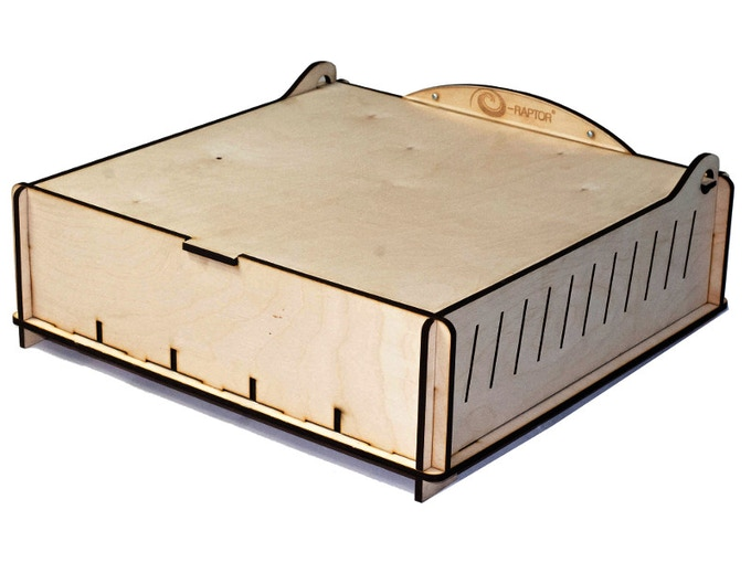 Trading Card Storage Box - Wooden