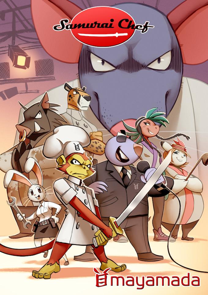 Samurai Chef Book Cover